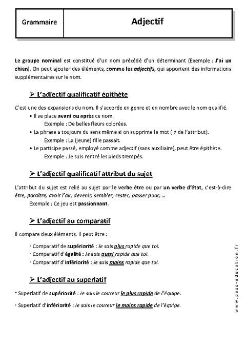 EXERCICE DE FRANCAIS 5EME A TELECHARGER - Weldox