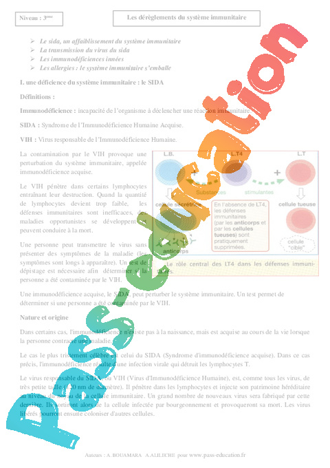 toxine definition svt 3eme