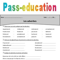 Adverbes Cm1 Exercices A Imprimer