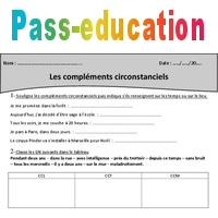 Complements Circonstanciels Cm1 Exercices A Imprimer