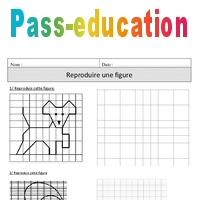 Reproduire Une Figure Cm1 Exercices A Imprimer De Geometrie