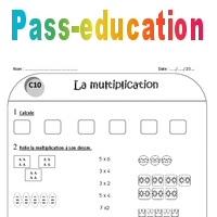 Multiplication Ce1 Exercices A Imprimer