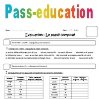 Passe Compose Cm1 Evaluation