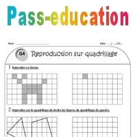 Reproduction Sur Quadrillage Ce1 Exercices A Imprimer