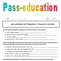 Adverbes De Frequence 5eme Exercices Corriges