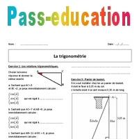 Trigonometrie 3eme Exercices Avec Correction