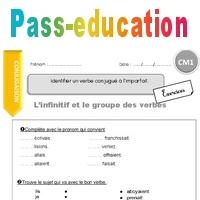 Identifier Un Verbe Conjugue A L Imparfait Cm1 Exercices Avec Correction