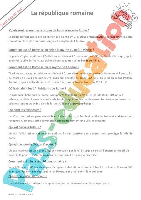 6ème - Cycle 3 - Soutien scolaire : exercices cours ...