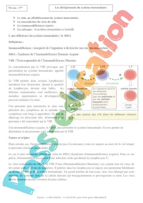 Cours SVT : 3ème - Pass Education
