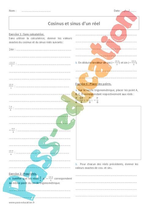 Fonctions Seconde 2nde Soutien Scolaire Exercices Cours Evaluation Revision