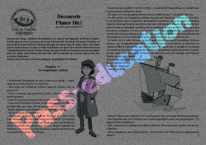Histoire : CM1 - Cycle 3 - Exercice évaluation révision leçon - Pass Education