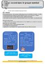 Leçon et exercice : Accord dans le groupe nominal : CM1