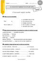 Leçon et exercice : Accord sujet verbe : CE1