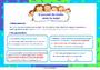 Affichage pour la classe Accord sujet verbe : CE2