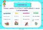 Affichage pour la classe Adverbes : CM1