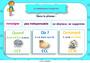 Affichage pour la classe Complément de phrase / complément circonstanciel : CM1