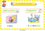 Affichage pour la classe Formes de phrases : CP