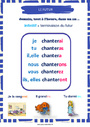 Affichage pour la classe Futur de l'indicatif : CM2