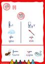 Affichage pour la classe [i], i, y – Son simple : CE1
