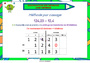 Affichage pour la classe Nombres décimaux : CM1