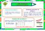Affichage pour la classe Organisation et gestion des données : CM1