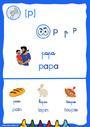 Affichage pour la classe [p], p – Son simple : CP