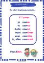 Affichage pour la classe Passé simple : CE2