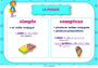 Affichage pour la classe Phrase simple et complexe : CE2