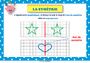 Affichage pour la classe Symétrie axiale : CE1