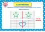 Affichage pour la classe Symétrie axiale : CM2