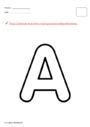 Leçon et exercice : Alphabets : PS - Petite Section