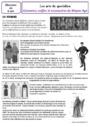 Leçon et exercice : Arts du quotidien : CM1