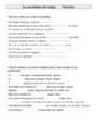 Leçon et exercice : Autres fiches - Conjugaison : CM2