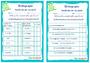 Leçon et exercice : Autres fiches - Orthographe : CE2