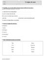 Leçon et exercice : Autres fiches - Vocabulaire : CM1
