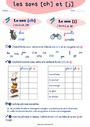Leçon et exercice : [ch] [j] - Son complexe, confusion : CE1