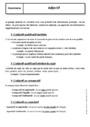 Cours Adjectif Qualificatif : 5ème