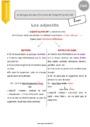 Leçon Adjectif Qualificatif : CM2