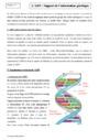 Cours ADN et information génétique : Seconde - 2nde