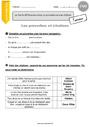 Leçon Autres fiches - Vocabulaire / Lexique : CM2