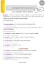 Leçon Classes de mots : CM2