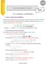 Leçon Coupe syllabique : CM2