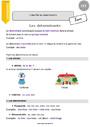 Leçon Déterminants et pronoms : CE2