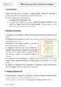 Cours Effets physiques des transferts thermiques : Première