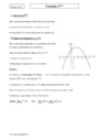 Cours Fonction exponentielle : Terminale