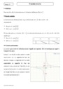 Cours Fonction inverse : Seconde - 2nde