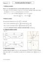 Cours Fonctions polynômes de degré 2 : Première