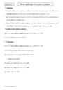 Cours Forme algébrique : Terminale