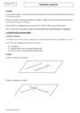 Cours Géométrie : Terminale