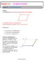 Cours Géométrie plane : 6ème